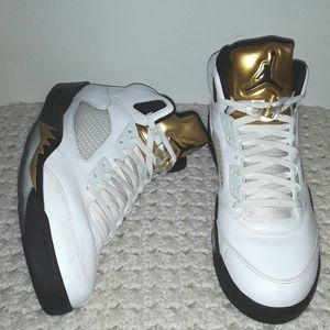 Air Jordan 5 Retro 'Olympic' Men size 15